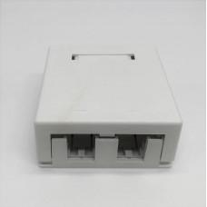 Розетка 2-порт. OFFICE BOX