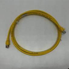 Патч-корд AMP LSZH S-FTP cat.6, жовтий, 2м