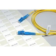 Наклейки для маркировки оптических, патч-кордов и пиг-тейлов D до 5 мм., ДхВ 26х11мм.,