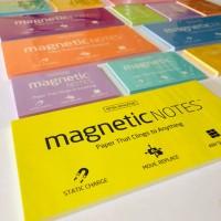 Магнитные стикеры MAGNETIC NOTES S-SIZE 70х50 YELLOW (100шт)