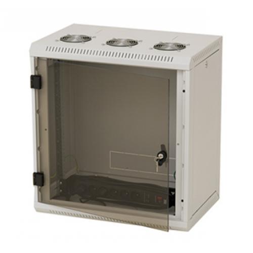 """изображение 19"""" настенный шкаф, односекционный 15U, (770x600x600мм)"""