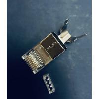 Коннектор RJ-45, для кабеля STP Cat.6a/7, с поддержкой, до 1,5 мм