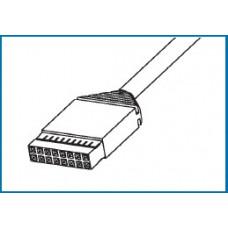 I/O Cable, AMPMODU/AMPMODU, 3.0m