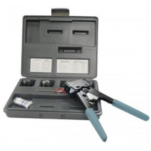 изображение Набор инструментов для обжима коннекторов, 8, 6 и 4 контактов