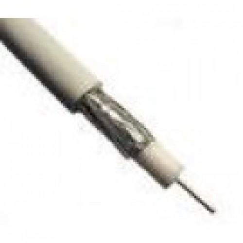 изображение RG660BV-W. Кабель коаксіальний RG6 STANDART, PVC RoHS, сталь обміднена, обп. 60%,  білий , RG660BV-W