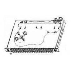 Патч панель SC до 24 х SC-SC Duplex (без адаптеров) ММ и SM