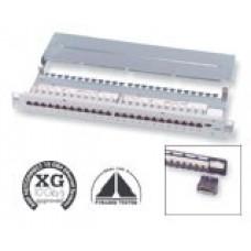 Патч панель AMPTRAC 24-порт. STP, кат.6 XG 10Gigabit