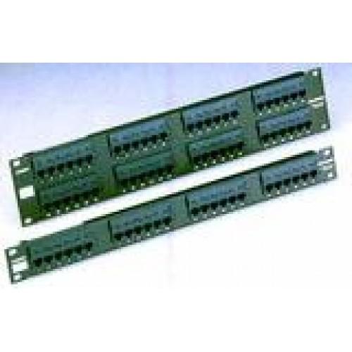 изображение Патч панель RJ45 кат.5e UTP 24-порт.