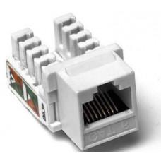 Модуль KeyStone RJ45 UTP, кат. 6, 110, Slim, W - 16.6 мм, EPNew, білий