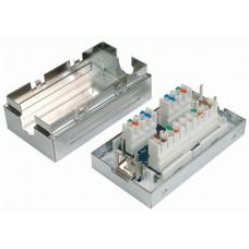 Соединительная коробка для 2-х сегментов кабеля, экранированная