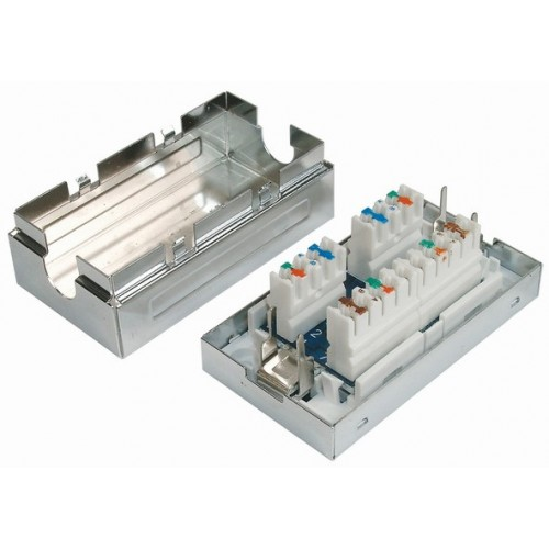 изображение Соединительная коробка для 2-х сегментов кабеля, экранированная