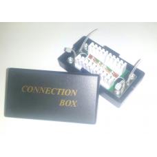 Соединительная коробка для 2-х сегментов кабеля с блоками IDC Krone