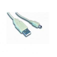 Кабель Gembird, USB 2.0 A-папа/ MINI USB 2.0 4-пін, 1,8 м, Gembird