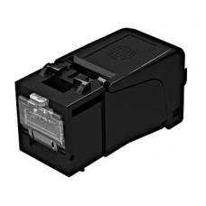 Модуль EasyLan RJ45 Keystone, FixLink SL cat.6, UTP Class EA ISO/IEC, неэкранированный, черный