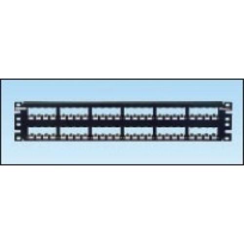 """изображение Рамка для наборной 19"""" патчпанели, 24 порта с органайзером"""