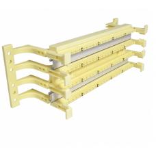 Кросовий блок на 100 пар з ніжками (110 тип), EPNew