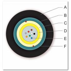 Волоконно-Оптический кабель универсальный, A-DQ(ZN)(SR)H 1x8E9/125 OS2, гофроброня, диэлектрические усиленные элементы, оболочка LSZH™/FRNC, Corning FWCT01-S0008-U004