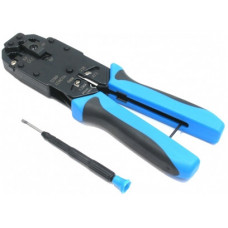Инструмент профи для обжимки RJ-45 (8P8C) & RJ-12(6P6C) & RJ-11(4P4C) Hanlong