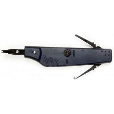 Инструмент профи для заделки телефонных плинтов KRONE с регулировкой силы, крючком Hanlong