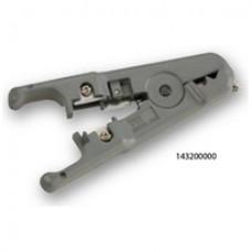 Инструмент Hanlong c 3-мя лезвиями для обрезки и зачистки кабеля