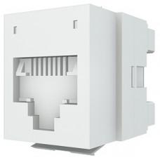 Модуль DataGate 1xRJ45(WE8W), UTP PowerCat 5е, белый