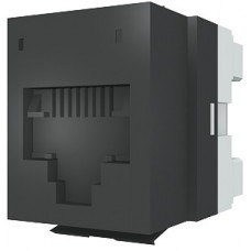 Модуль DataGate 1xRJ45(WE8W), UTP PowerCat 5е, черный