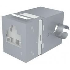 Модуль Data Gate+ 1xRJ45 (WE8W), STP 360DEG, 568A/B, PowerCat 5e, белый