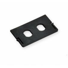Кріплення для установки в розетки ВО ST адаптерів ( для LAXLSD-U0001-C000 )