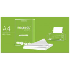 Магнитные листы Magnetic Sheets A4, 210x297 (100шт)