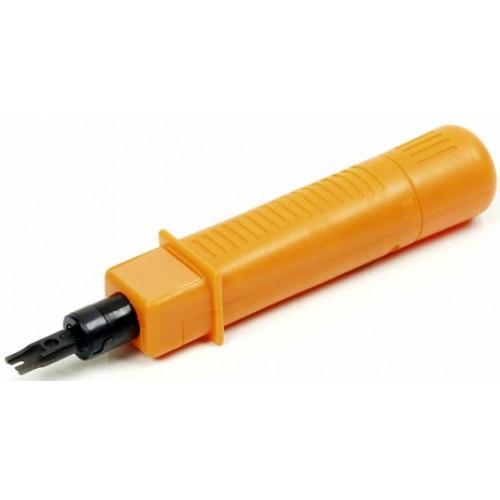изображение Инструмент для заделки кабеля, с пружиной, c регулировки силы, c лезвием ( NETS-14B тип 110 ) в комплекте