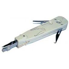 Инструмент профи для заделки телефонных плинтов KRONE с регулировкой силы, крючком