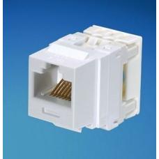 Panduit NetKey модуль Keystone RJ45 UTP, категория 6, белый