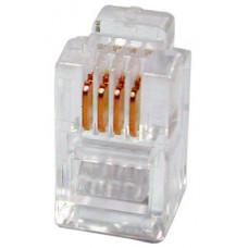Коннектор телефонный , 4p4c