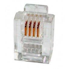 Коннектор телефонный, 6p4c