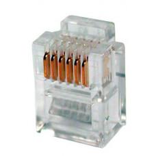 Коннектор телефонный , 6p6c