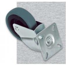 Ролики для напольных шкафов, комплект из 4шт (2 c фиксаторами)