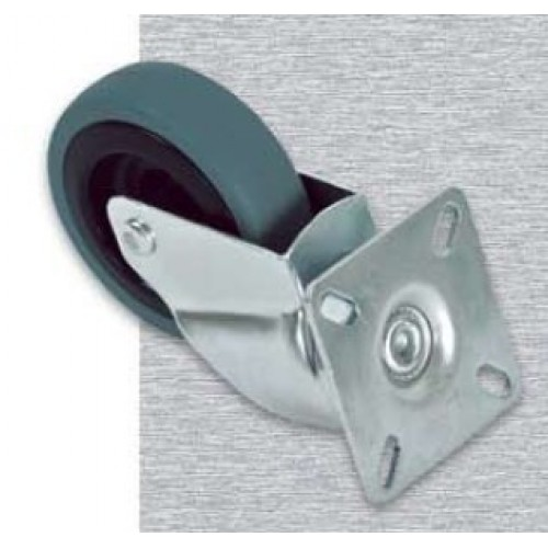 изображение Ролики для напольных шкафов, комплект из 4шт (2 c фиксаторами)