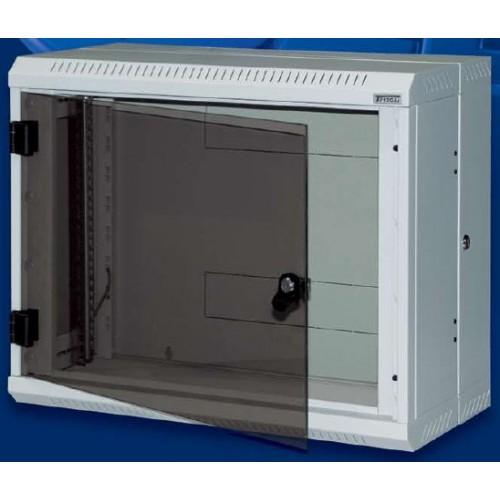 """изображение 19"""" настенный шкаф, двухсекционный 9U, (520x600x295мм), rba-09-ad2-cax-a1"""