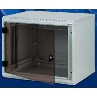 "19"" настенный шкаф, односекционный 9U, (520x600x600мм), RBA-09-AS6-CAX-A6"