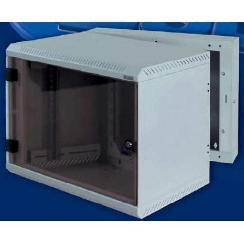"""изображение 19"""" настенный шкаф, двухсекционный 18U, (900x600x520мм), RBA-18-AD5-CAX-A6"""
