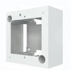 Настенная абонентская коробка для рамок WEU, 1G, 40 мм, белого цвета