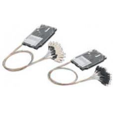 Комплект 12 кольрових пігтейлів SC/UPC SM та сплайс-касета стандартна з тримачем 12 термоусад.гільз, Corning