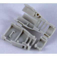 Колпачок пластиковый, разборный, для коннекторов, серый, EPNew