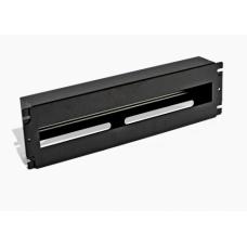 Панель 19'' 3U с DIN-рейкой, для 24-х автоматических выключателей