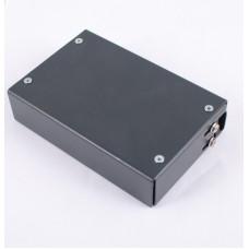 Волоконно оптичний бокс малий на 2SC Duplex адаптера, 120х80х28 мм, чорний