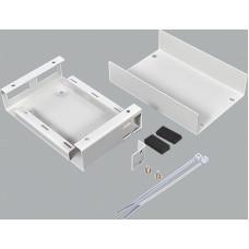 Волоконно оптичний бокс малий на 2SC Duplex адаптера, 120х80х28 мм, сірий