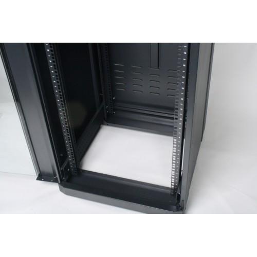 """изображение Шкаф 19"""" 28U, 610 х 865 мм (Ш*Г), черный"""