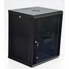 Шкаф 4U, акриловое стекло, черный