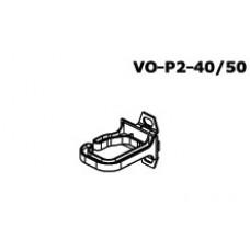 Кабеледержатель вертик. разводки 40x50mm