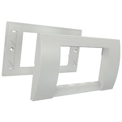 изображение Рамка двойная Contura 25х200, 2G, 4M, белого цвета